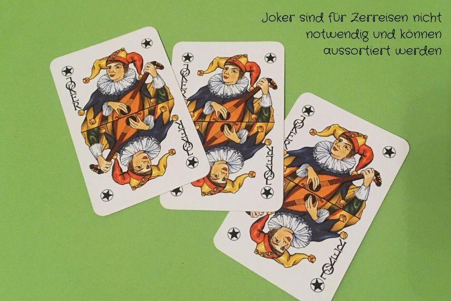 Joker sind nicht notwendig