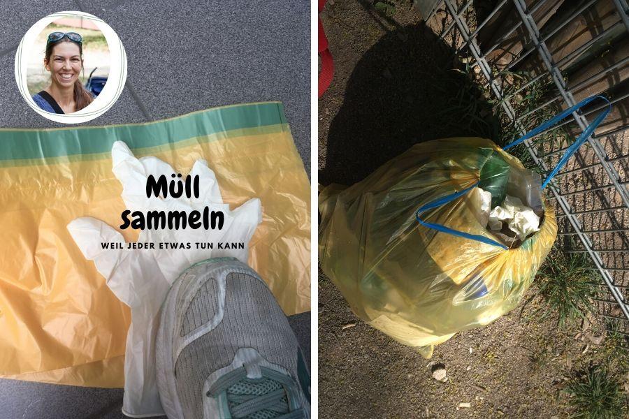 Müll sammeln - weil wirklich jeder etwas tun kann