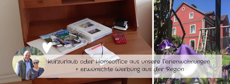 Homeoffice-Kurzurlaub-Ferienwohnungen als Alternative oder Tapetenwechsel