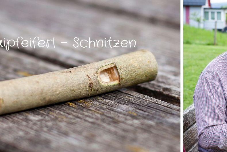 Maipfeiferl - Schnitzen