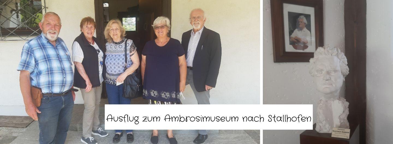 Ausflug zum Ambrosimuseum nach Stallhofen