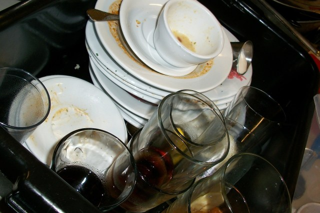 used dishes