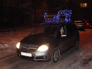 Дед мороз проапгрейтил свои сани :)