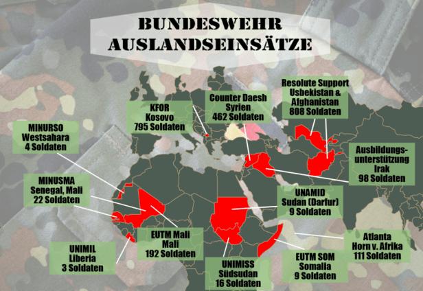 auslandseinstze der bundeswehr - Bundeswehr Freiwilliger Wehrdienst Bewerbung