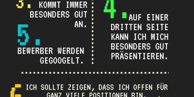 Bewerbungsmythen Bild: karriereletter.de