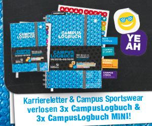CampusLogbuch + CampusLogbuch Mini zu gewinnen!