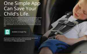 Kars4Kids Safety App, Forgotten Baby Syndrome, FBS