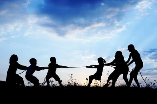 Tug of War, conflict resolution