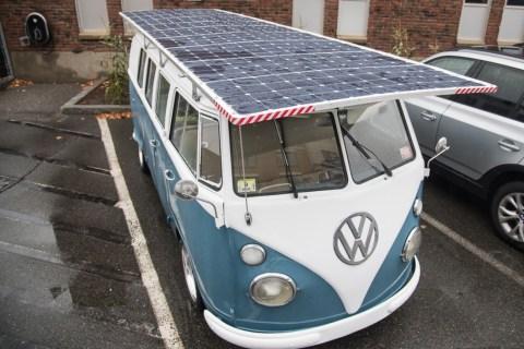 Solar VW Bus