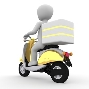 delivery motorcycles
