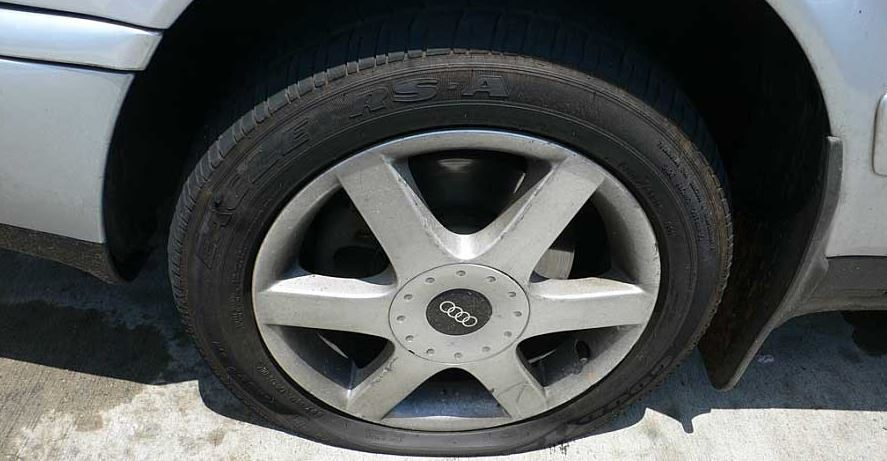 car puncture