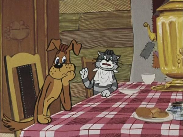 Картинка Пес Шарик и кот Матроскин » Простоквашино ...