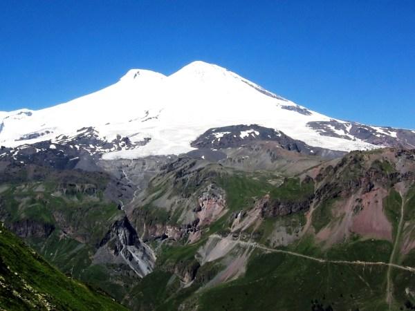 Картинка Гора Эльбрус Кавказ Россия 187 Горы 187 Природа