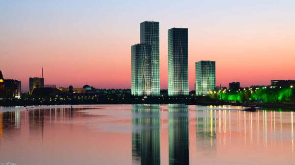 Картинка Река Ишим в Астане » Астана » Города » Картинки ...