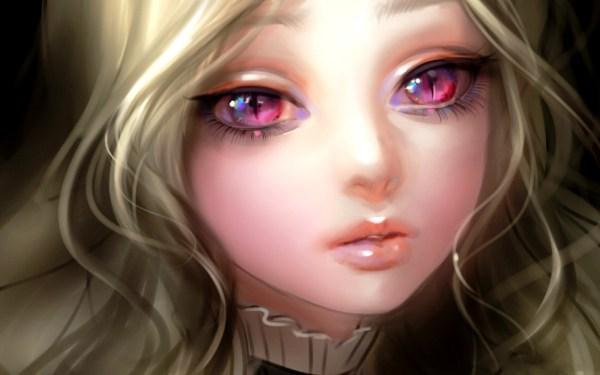 Картинка Глаза девушки аниме » Аниме » Картинки 24 ...