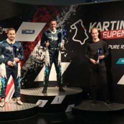 Formula Karting 2018 Race 6 Eupen FK 1 Podium