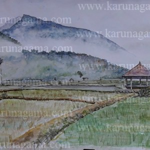 Online, Art, Art Gallery, Online Art Galley, Sri Lanka, Karunagama, Watercolor, Water Colour, Koombiyangoda, Matale, Matale paintings, Landscapes, Landscape paintings, Sri lanka Landscapes, Sri lanka paintings,
