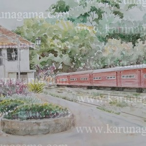 Online, Art, Art Gallery, Online Art Galley, Sri Lanka, Karunagama, Watercolor, Water Colour, Kandy, Paintings in Kandy, Trains, Trians in Kandy, Kandy station, Railway stations in Sri lanka, Water Colors, Paintings, Sri Lanka, Online Arts, Art Gallery, Sarath Karunagama, Online Art Gallery, Water Colors, Paintings, Sri Lanka, Online Arts, Art Gallery, Sarath Karunagama, Online Art Gallery, Portrait, Landscape, Trains, Sri lanka paintings,