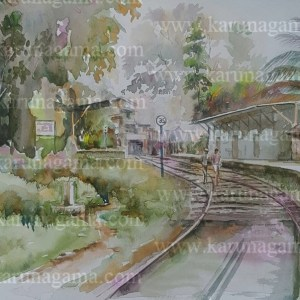 Online, Art, Art Gallery, Online Art Galley, Sri Lanka, Karunagama, Watercolor, Water Colour, Railways, Paintings of Stations, Railway Stations, Sri Lanka Railways, Water Colors, Paintings, Sri Lanka, Online Arts, Art Gallery, Sarath Karunagama, Online Art Gallery, Water Colors, Paintings, Sri Lanka, Online Arts, Art Gallery, Sarath Karunagama, Online Art Gallery, Portrait, Landscape, Railway, Sri lanka paintings,