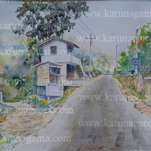 Online, Art, Art Gallery, Online Art Galley, Sri Lanka, Karunagama, Watercolor, Water Colour, Sri lanka busses, Bus halt paintings, Landscape paintings, Sri lanka Landscapes, Water Colors, Paintings, Sri Lanka, Online Arts, Art Gallery, Sarath Karunagama, Online Art Gallery, Portrait, Landscape, Bus Halt, Sri lanka paintings,