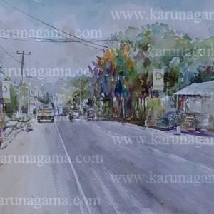 Online, Art, Art Gallery, Online Art Galley, Sri Lanka, Karunagama, Watercolor, Water Colour, Nugawela , Nugawela paintings, Water Colors, Paintings, Sri Lanka, Online Arts, Art Gallery, Sarath Karunagama, Online Art Gallery, Portrait, Landscape, street, Sri lanka paintings,