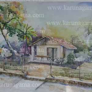 Online, Art, Art Gallery, Online Art Galley, Sri Lanka, Karunagama, Watercolor, Water Colour, Carpenters, Sri lanka woodwork, Sri lanka carpenters, Sri lanka landscape,