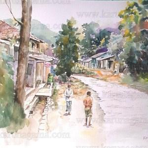 Art, Art Gallery, Badulla, Karunagama, Landscapes, Landscapes in Sri lanka, Online, Online Art Galley, Shops, Soranathota, Sri Lanka, Store, Water Colour, Watercolor, Closed shops, Badulla,