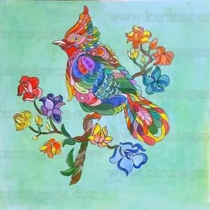 Art, Art Gallery, Ceylon, Kadadora temple, Kadadora viharaya, Karunagama, Birds, Acrylic bird, Abstract bird, Online Art Gallery, Sceneries in Sri lanka, Sri Lankz