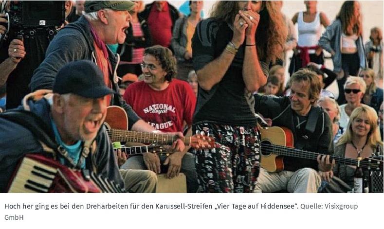 2015.05.08_Schwerin_Vitte - Vier Tage auf Hiddensee_ Film porträtiert Karussell_Foto