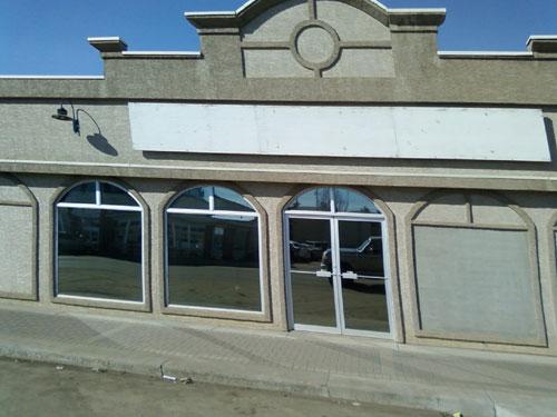 Photo title: Bent Building