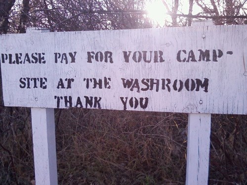 Photo title: Campsite