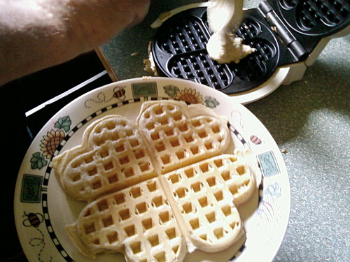 Photo title: Waffles
