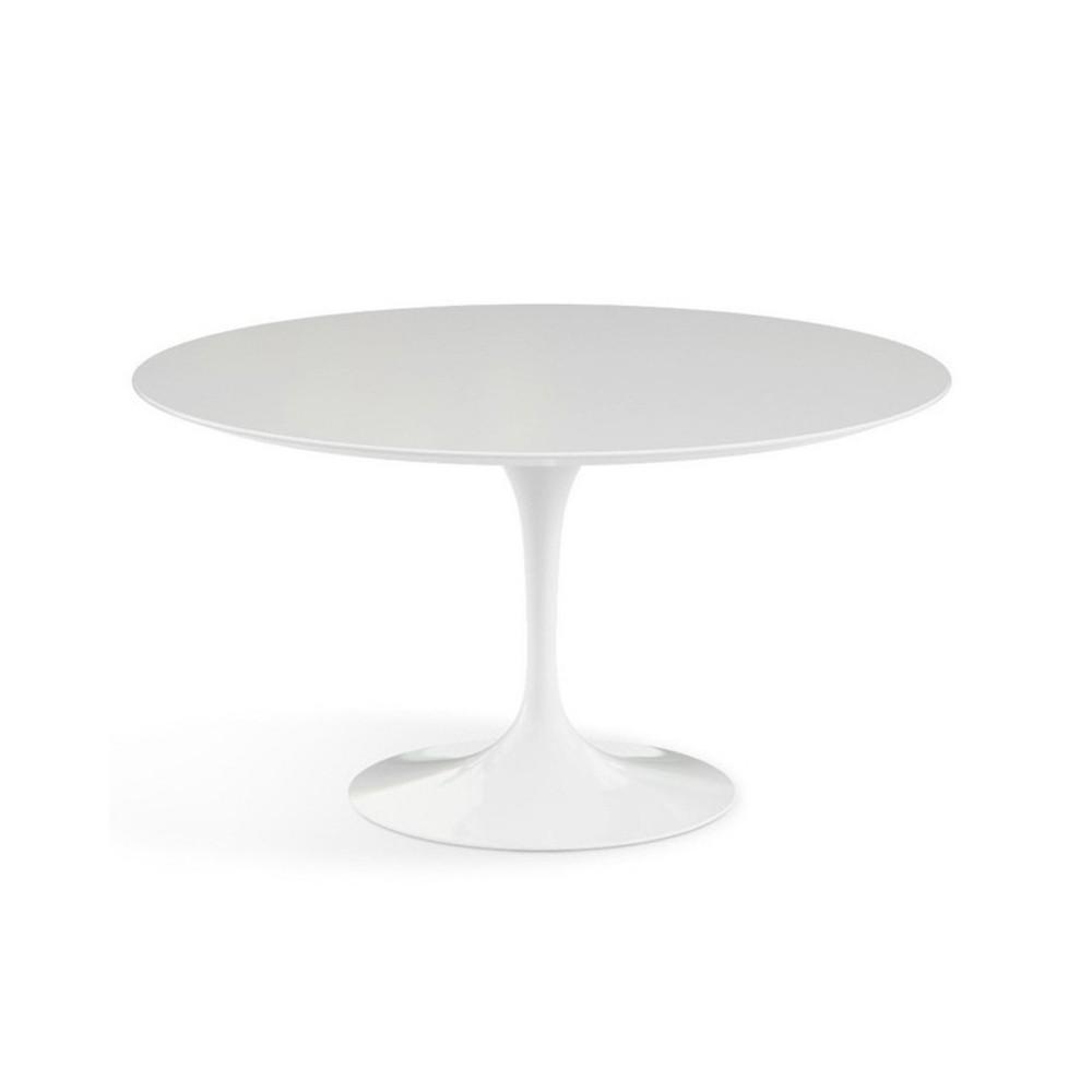 neuauflage des tulip table von saarinen tondo diam 80 cm 90 cm 100 cm 107 oder 120 cm laminat oder marmorplatte