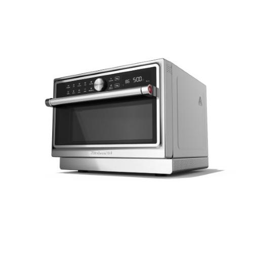 kitchenaid kmqfx 33910 countertop combination microwave 33 l 1000 w black stainless steel