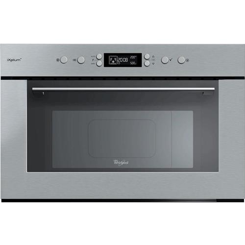 whirlpool amw 735 ixl microwave built in 31 l 1000 w stainless steel