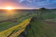Parkhouse Hill Starburst - Peak District Landscape Photography