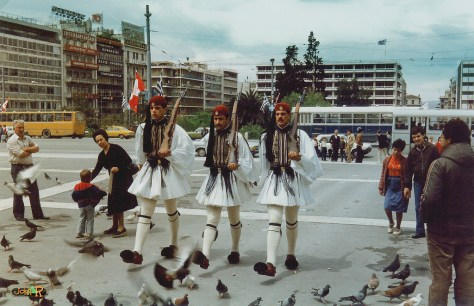 Soldiers in Syntagma Sq
