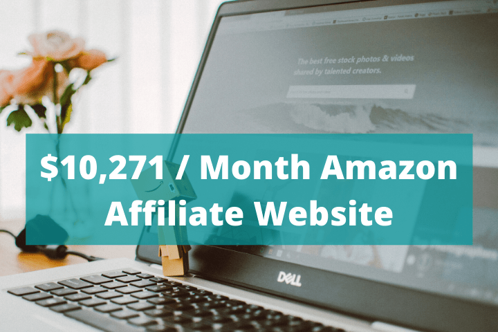 $10,271 / Month Amazon Affiliate Website Case Study