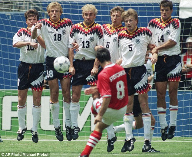 The Golden Generation of football: 1994 World Cup