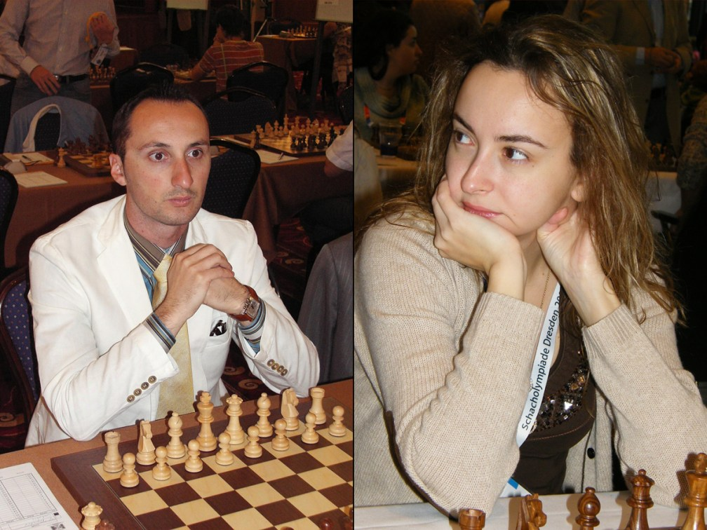 Overlords of chess: Veselin Topalov and Antoaneta Stefanova, 2005-2006