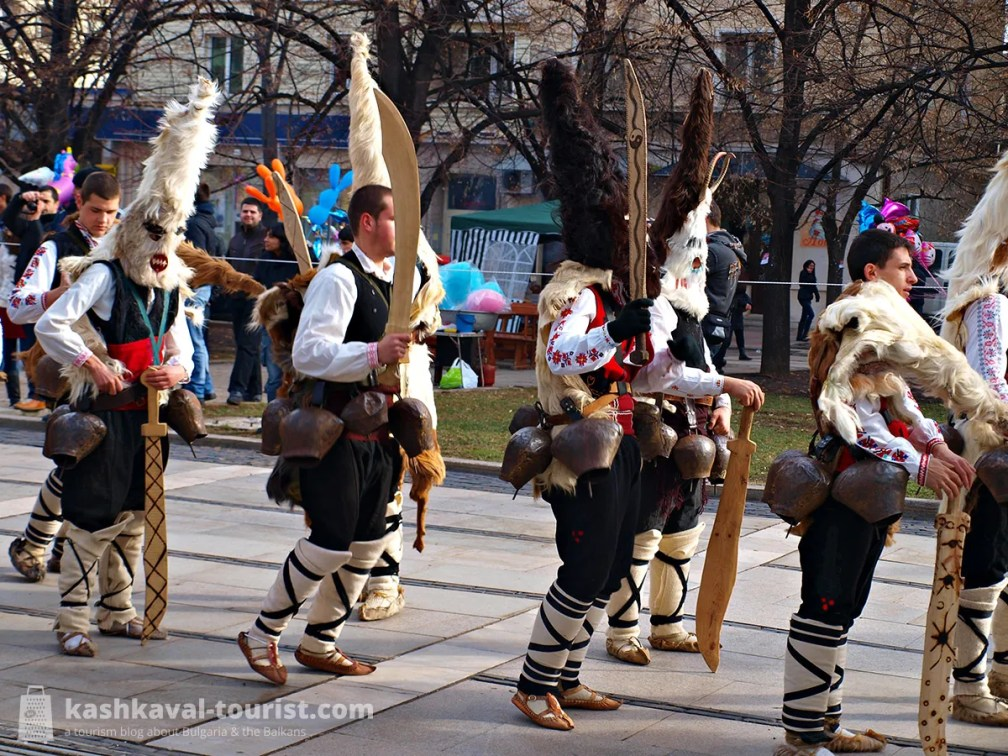 Experience the spooky Bulgarian version of carnival