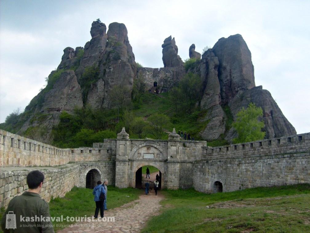 Among the bizarre rocks: Belogradchik Fortress