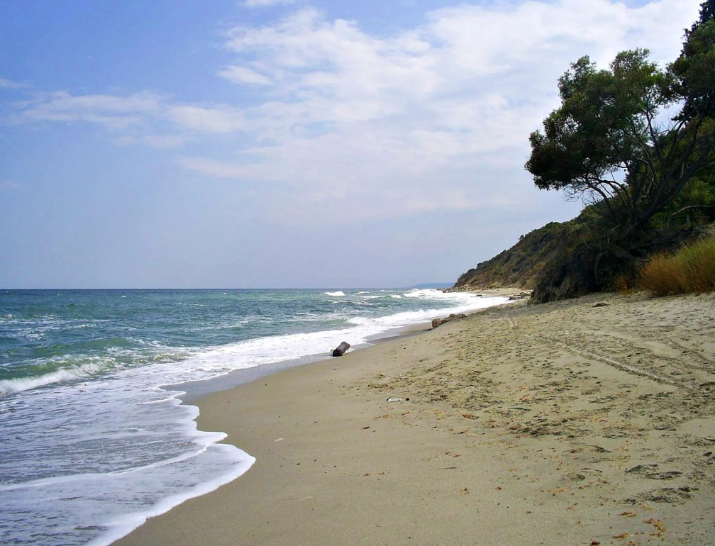 Camping on an unspoilt beach: Pasha Dere