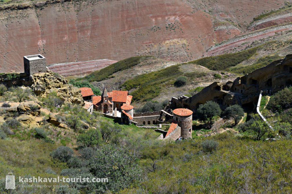 Monastic life in the desert caves: David Gareja