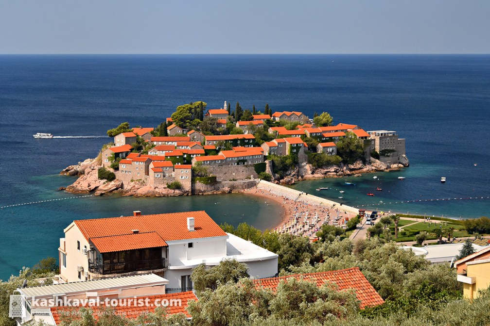 Postcard of the Adriatic: Sveti Stefan Island