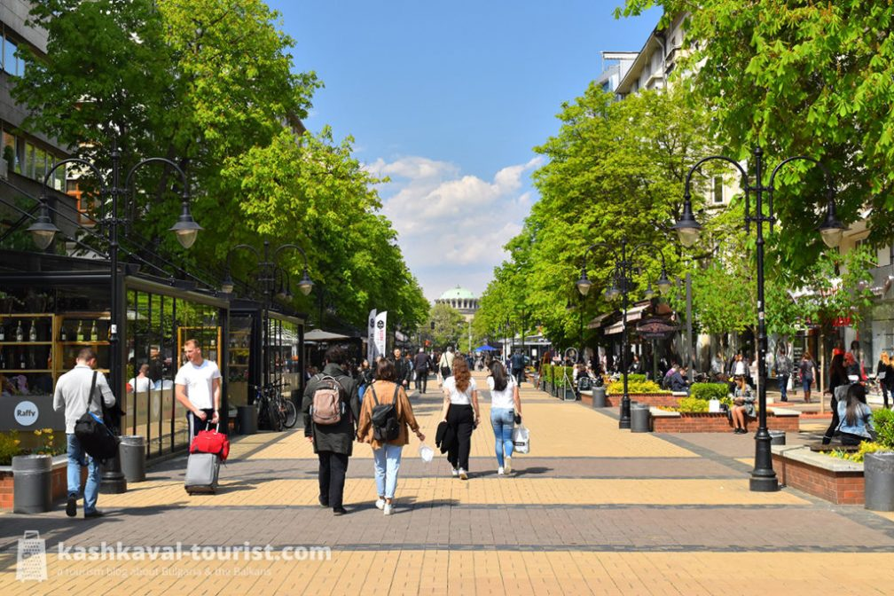 See and be seen: Vitosha Boulevard
