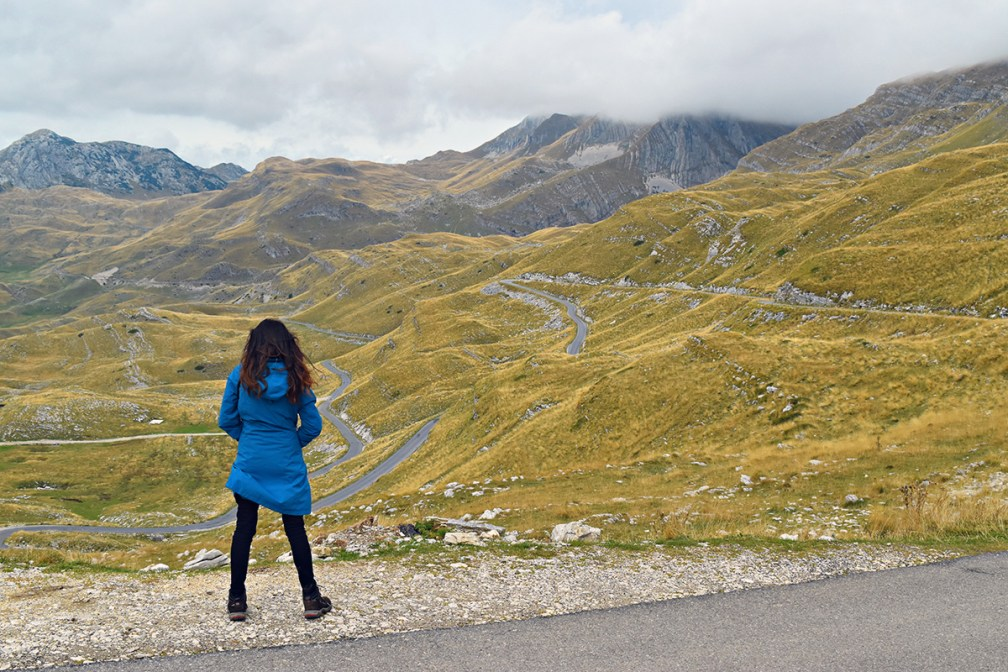 Hop onto the saddle: drive the P14 road over the Sedlo Pass