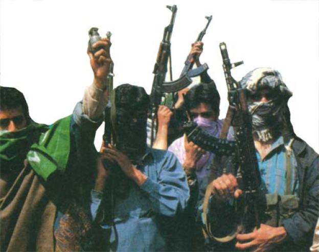 Kashmiri-militants-in-90s