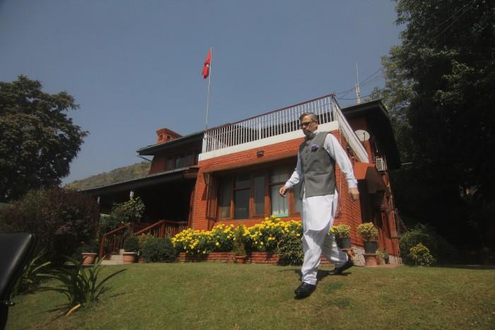 Omar in his Gupkar residence.