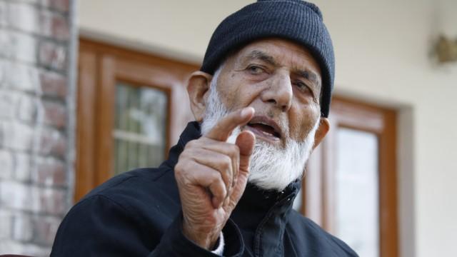 Syed Ali Geelani       File Photo